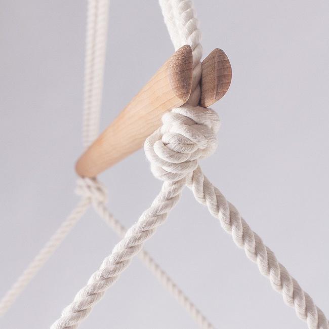 bavlněná lana křesla Swingy In